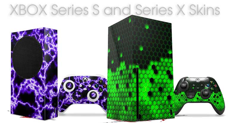 All new XBOX One Skins and Wraps